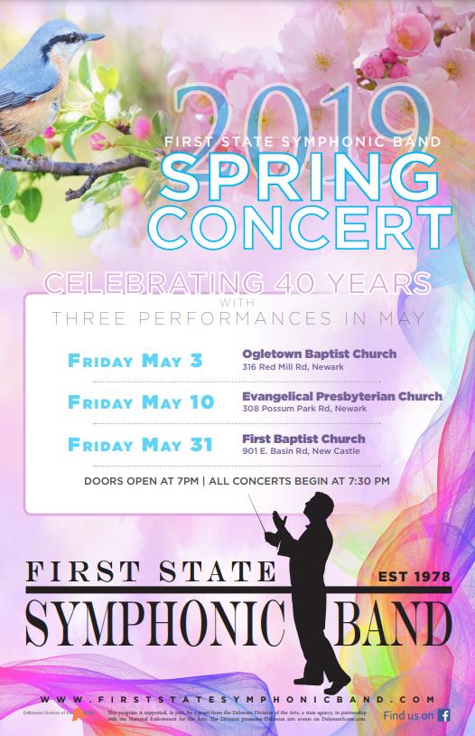 FSSB 2019 Spring Concert poster