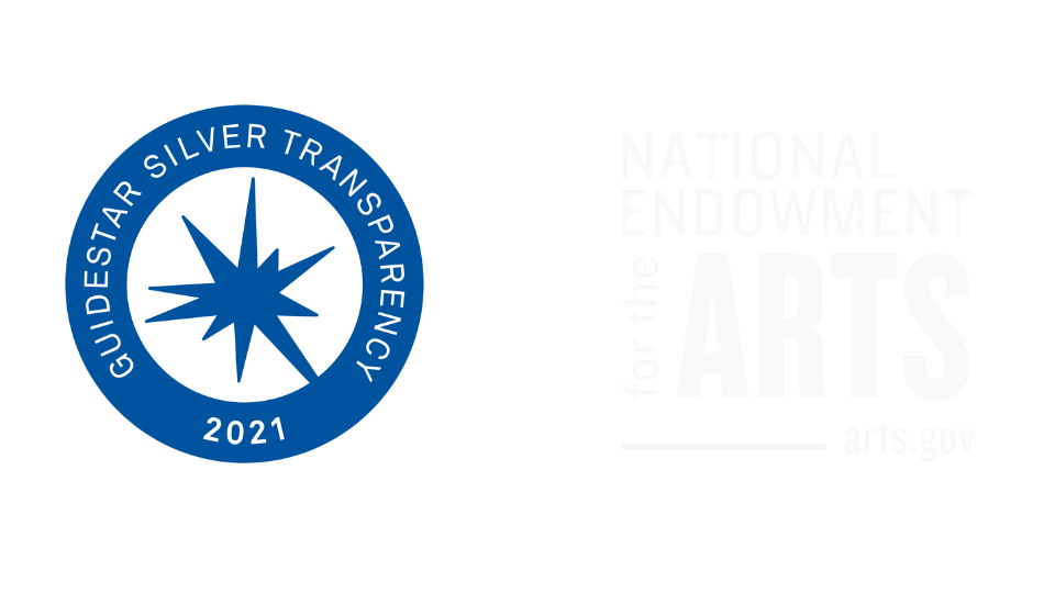 Guidestar Rating and National Endowment for the Arts logos
