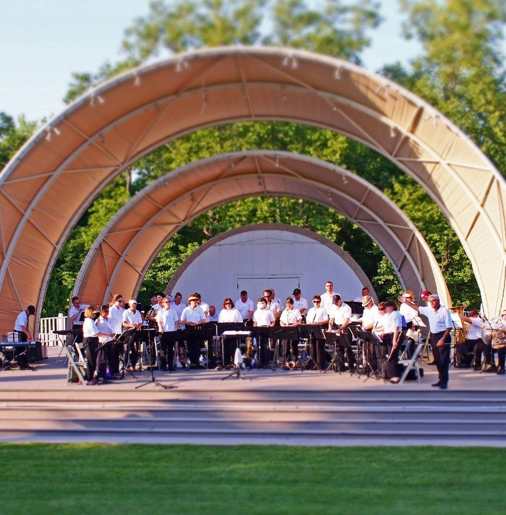 First state symphonic band at Belleview Amphitheater